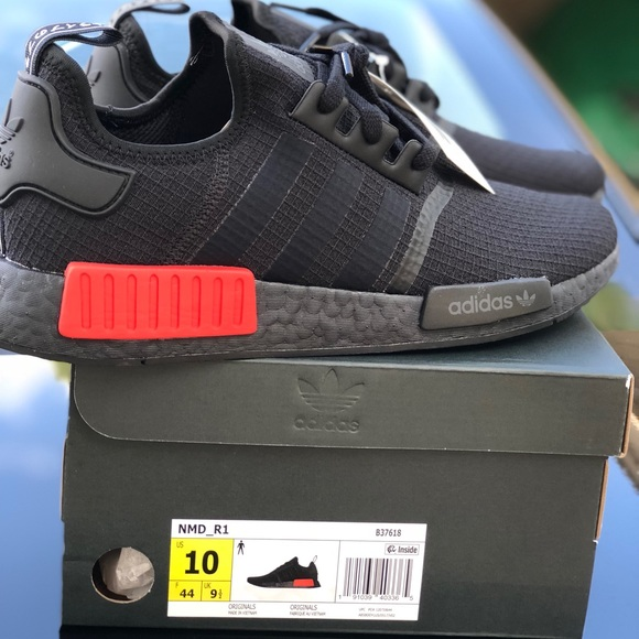 new products 347ab de4ff NMD R1 Bred (blk red) - 2018 release. NWT. adidas
